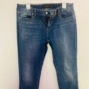 Great ladies lucky brand ankle jeans